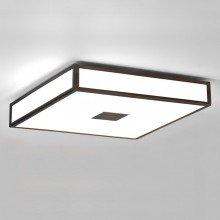 Astro Lighting - Mashiko 400 Square LED Emergency Selftest 1121074 (8613) - IP44 Bronze Ceiling Light