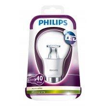 Philips 6.5W (40W) B22 BC Bayonet Cap LED Lamps Bulbs 2700K Warm White