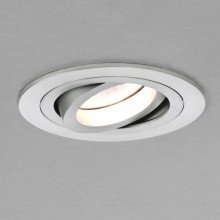 Astro Lighting - Taro Round Adjustable Fire-Rated 1240027 (5675) - Fire Rated Brushed Aluminium Downlight/Recessed Spot Light