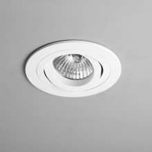 Astro Lighting - Taro Round Adjustable Fire-Rated 1240028 (5676) - Fire Rated Matt White Downlight/Recessed Spot Light