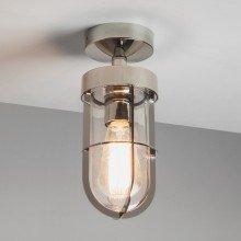 Astro Lighting - Cabin Semi Flush 1368001 (7557) - IP44 Polished Nickel Wall Light
