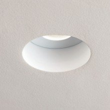 Astro Lighting - Trimless 12V Round Fire-Rated 1248001- Matt White Downlight/Recessed Spot Light