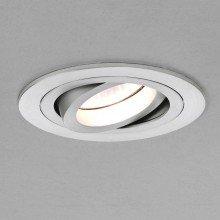 Astro Lighting - Taro Round Adjustable 1240011 (5637) - Brushed Aluminium Downlight/Recessed Spot Light