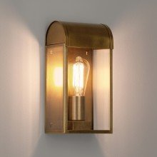 Astro Lighting - Newbury 1339003 (7862) - IP44 Antique Brass Wall Light