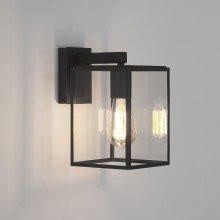 Astro Lighting - Box Lantern 270 1354003 (8048) - Textured Black Wall Light