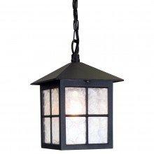 Elstead - Winchester BL18B-BLACK Chain Lantern