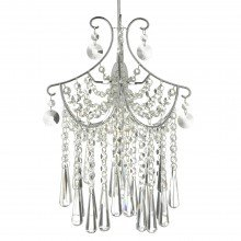 Clear Glass Droplets Easy Fit Pendant