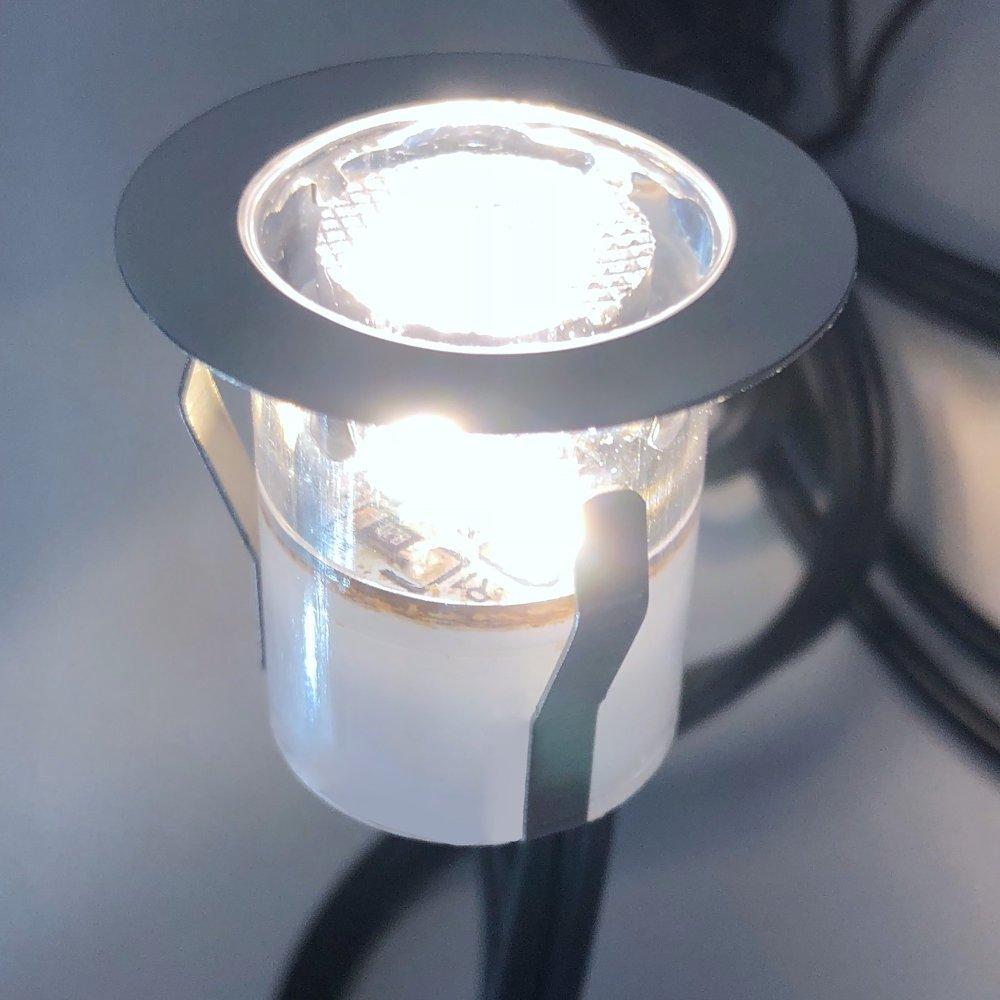 SET-OF-20-15mm-IP67-ROUND-LED-DECKING-GROUND-PLINTH-LIGHT-KIT thumbnail 11