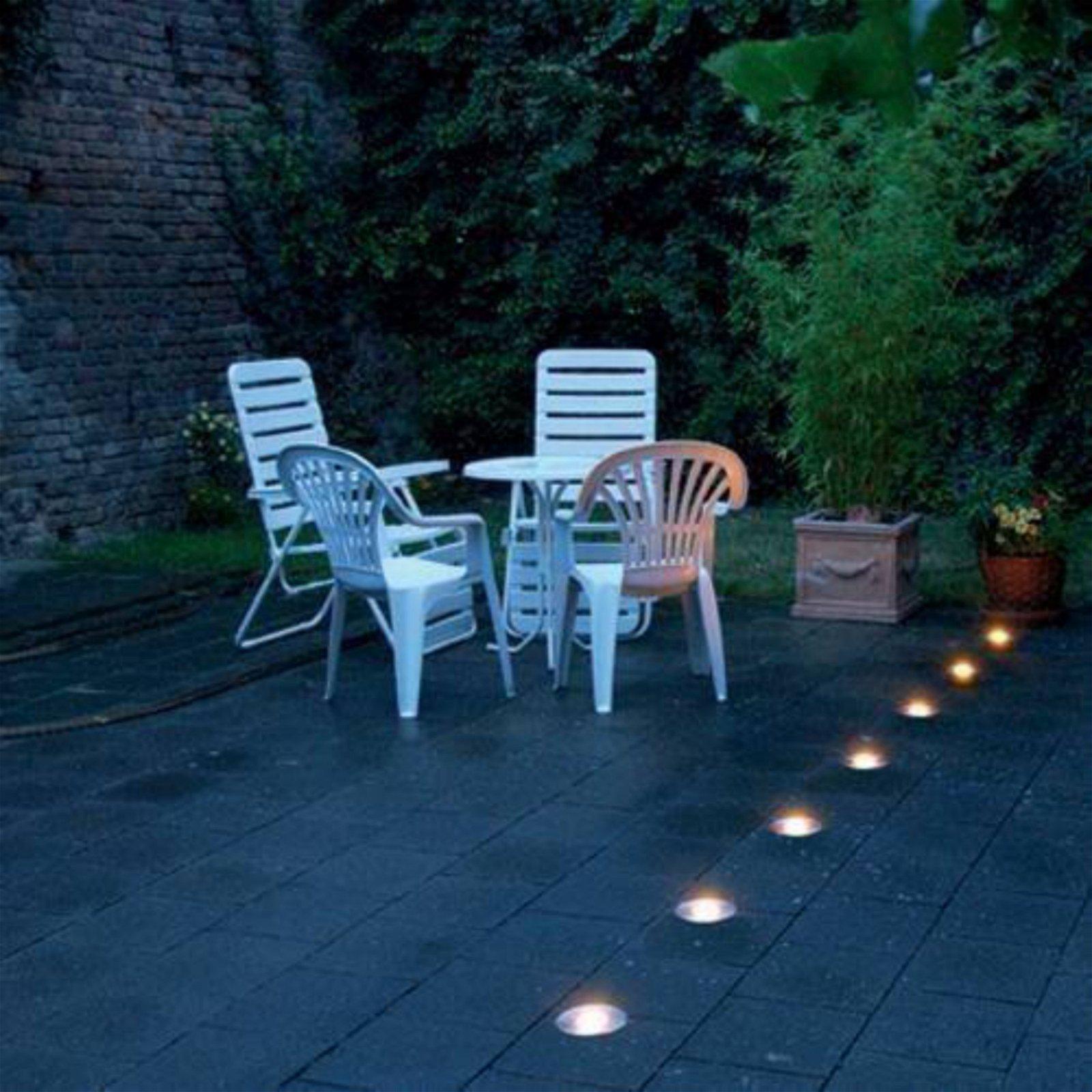 InGround Recessed Walk Over Uplight Deck Patio Garden Outdoor IP65 GU10